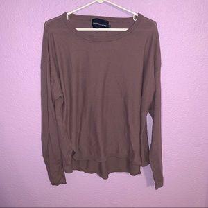 Calvin Klein jeans XL sweater purple